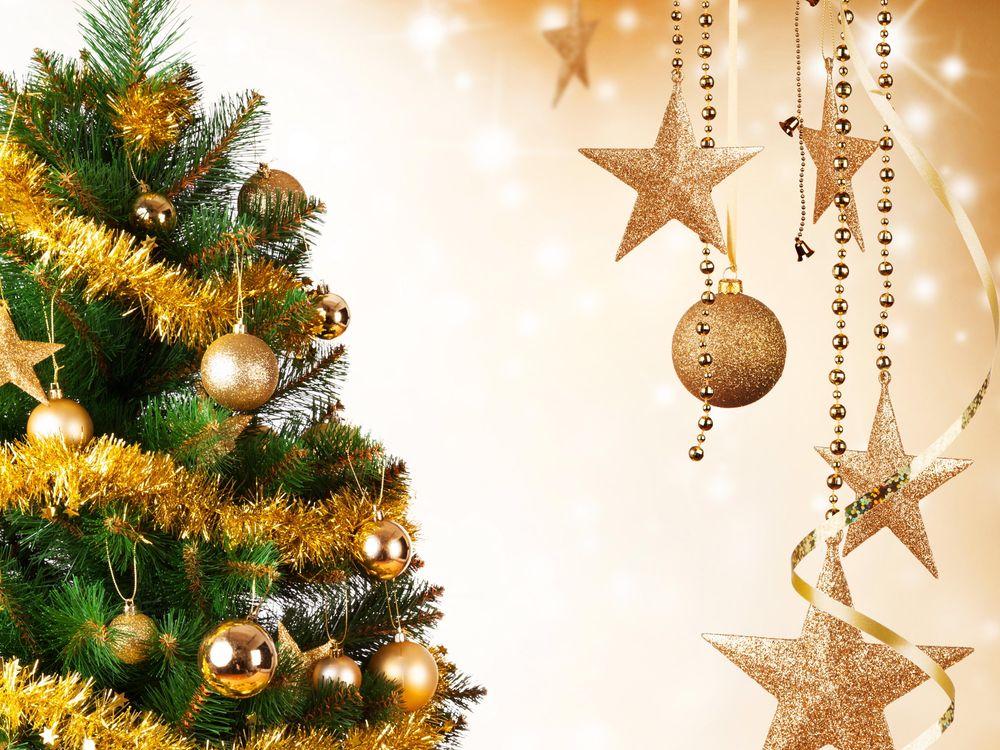 Фото бесплатно новогодние обои, новогодний фон, с новым годом, украшения, новогодняя ёлка, новый год