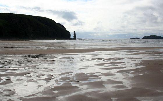 Фото бесплатно побережье, отмель, песок