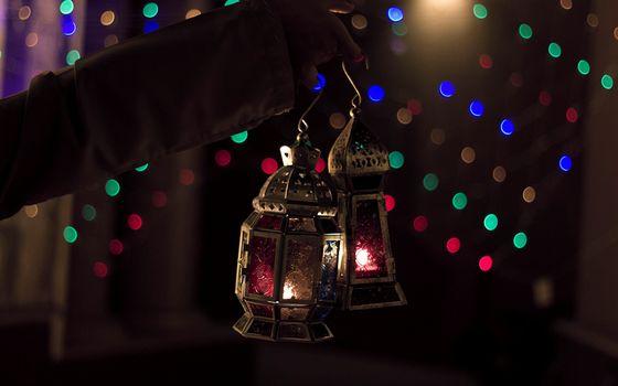 Фото бесплатно старинные светильники, фонари, свечки