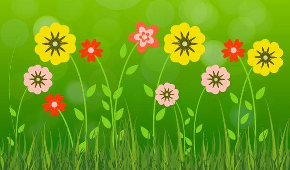 Фото бесплатно цветы, лепестки, лето