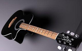 Бесплатные фото гитара,акустическая,струны,гриф,лады,колки