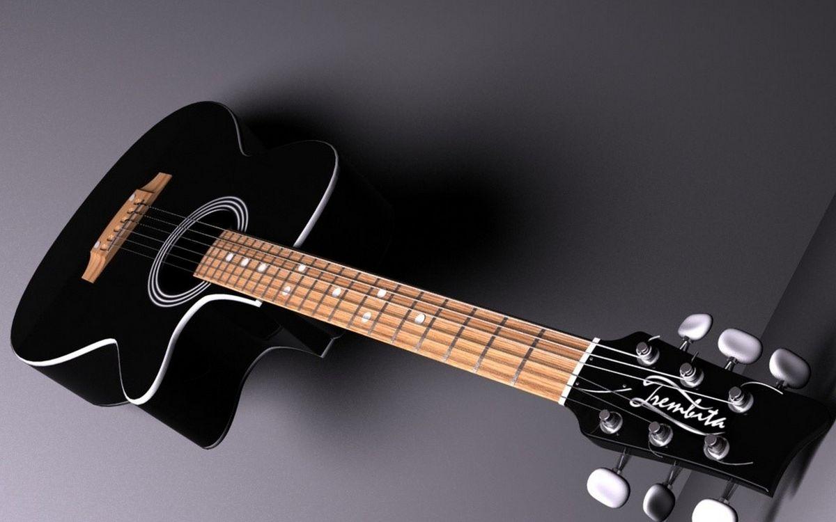 Фото бесплатно гитара, акустическая, струны, гриф, лады, колки, музыка