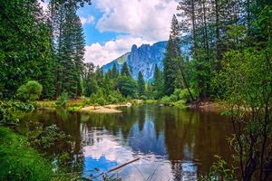 Фото бесплатно Калифорния, река, США