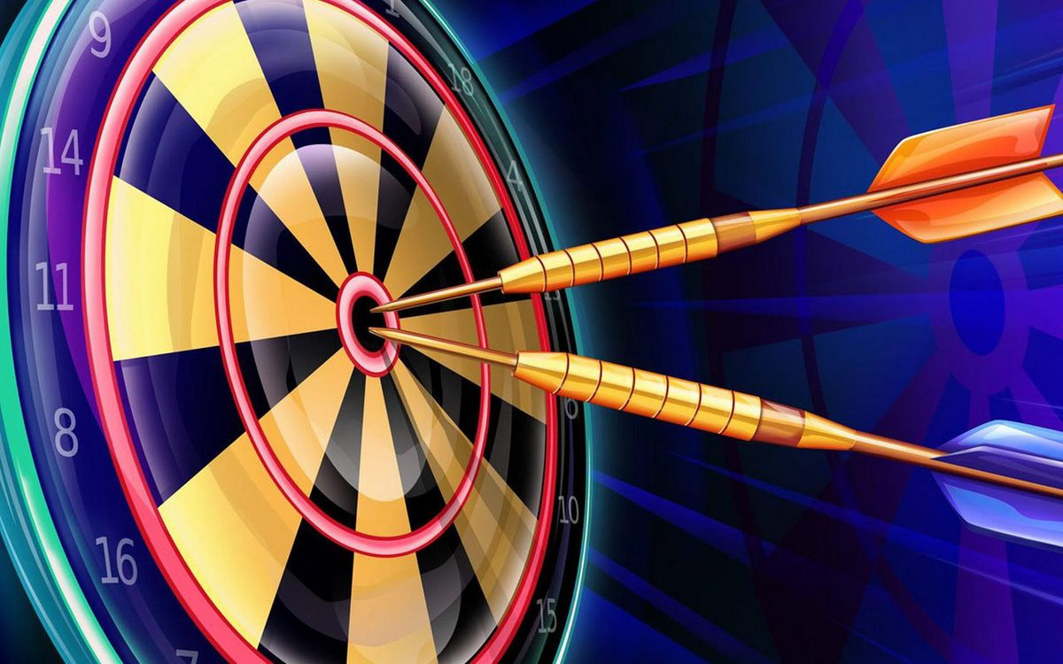 Photos for free darts, target, numbers - to the desktop