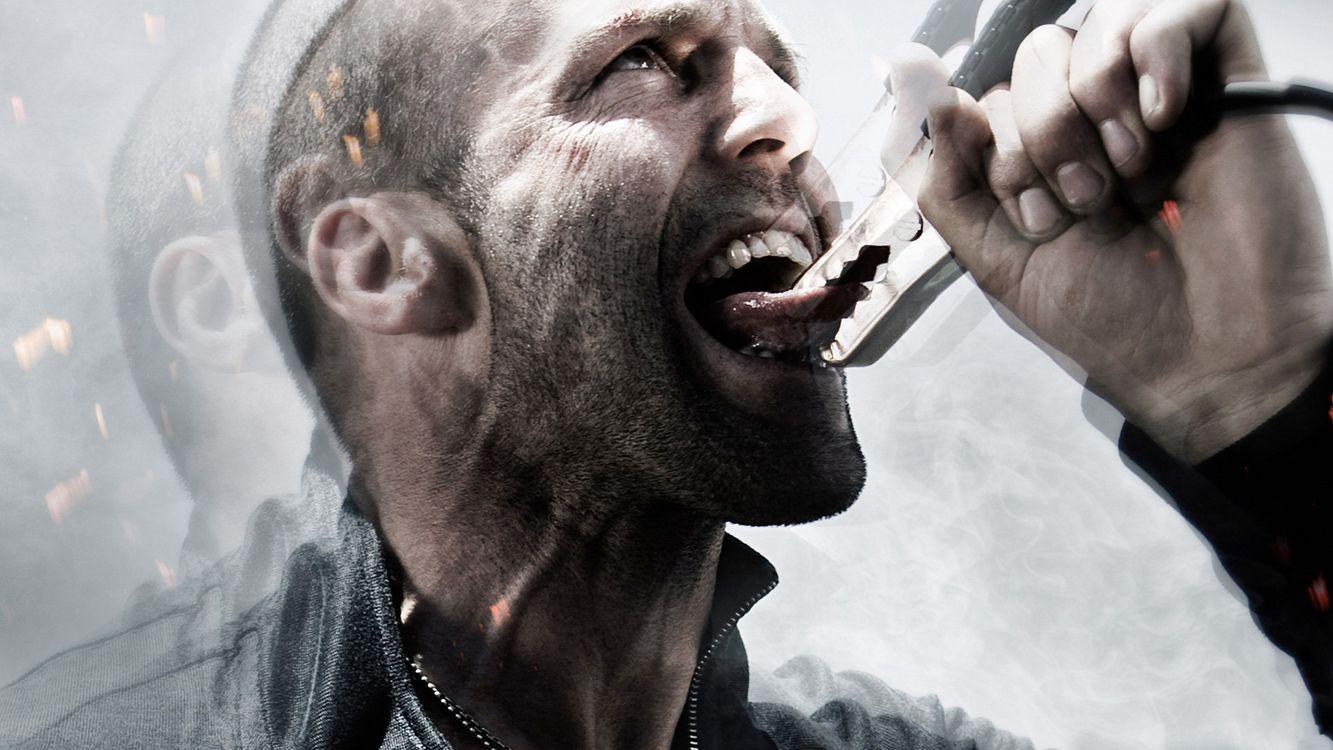 Фото бесплатно адреналин 2, Джейсон Стэтхэм, клемма, язык, разряд, фильмы