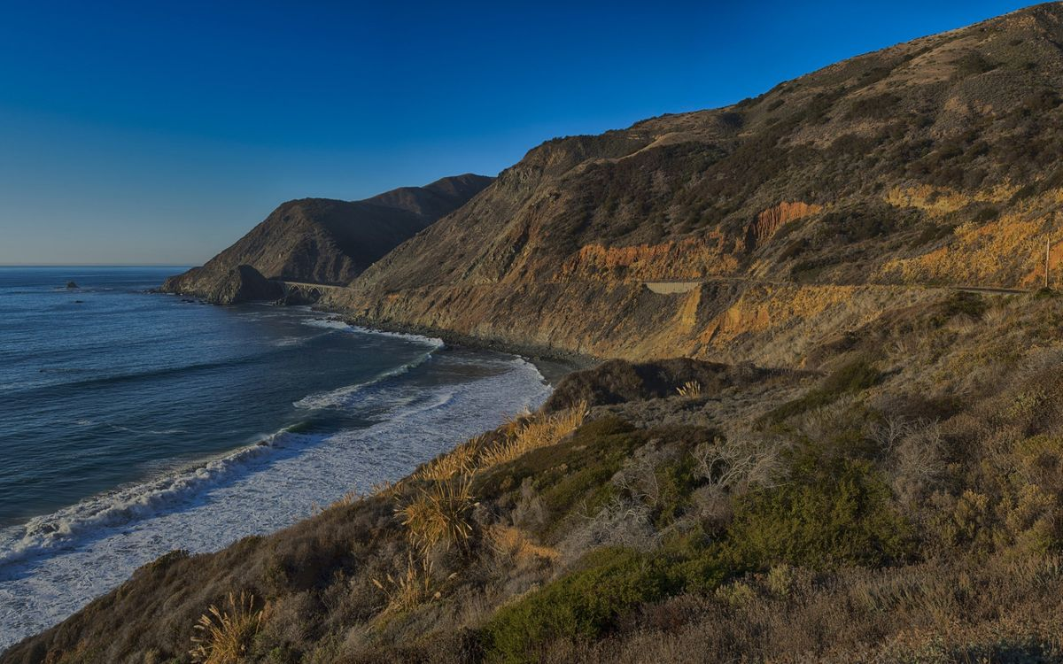 Фото бесплатно побережье, скалы, волны - на рабочий стол