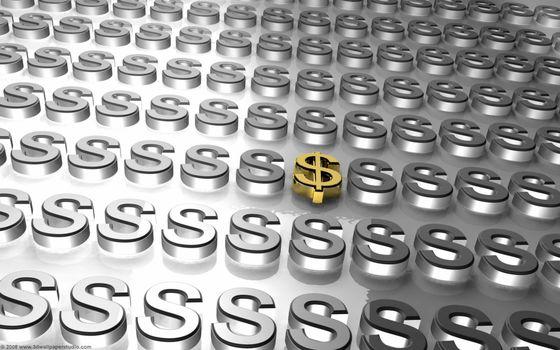 Бесплатные фото доллар,символ,знак,буквы,серебро