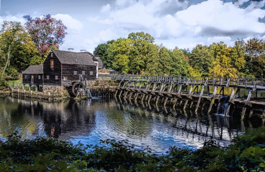 Фото бесплатно Philipsburg Manor, мельница, плотина