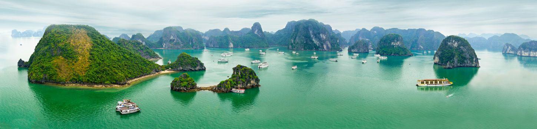 Фото бесплатно Halong Bay, Vietnam, море