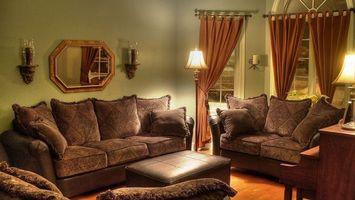 Фото бесплатно комната, мебель, диваны