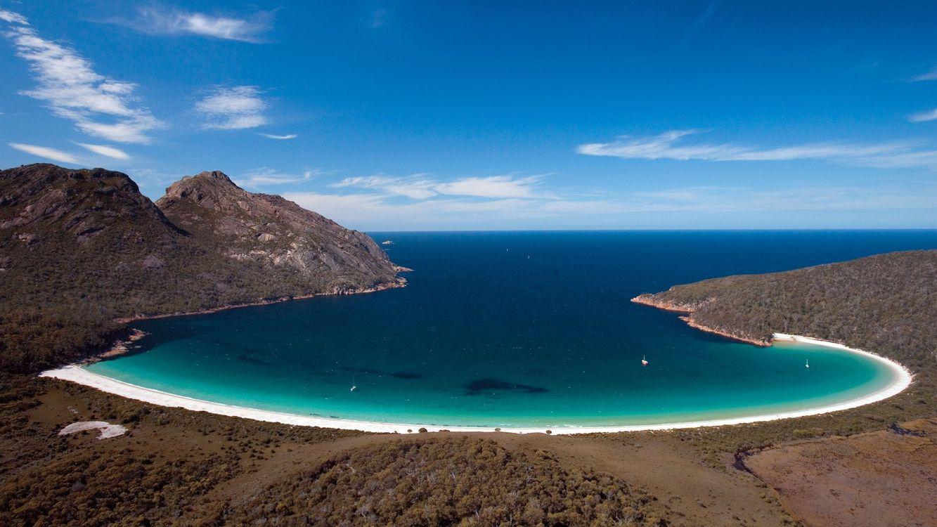 Фото бесплатно береговая линия, океан, пляж - на рабочий стол