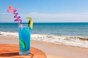 Фото бесплатно море, коктейль, напиток