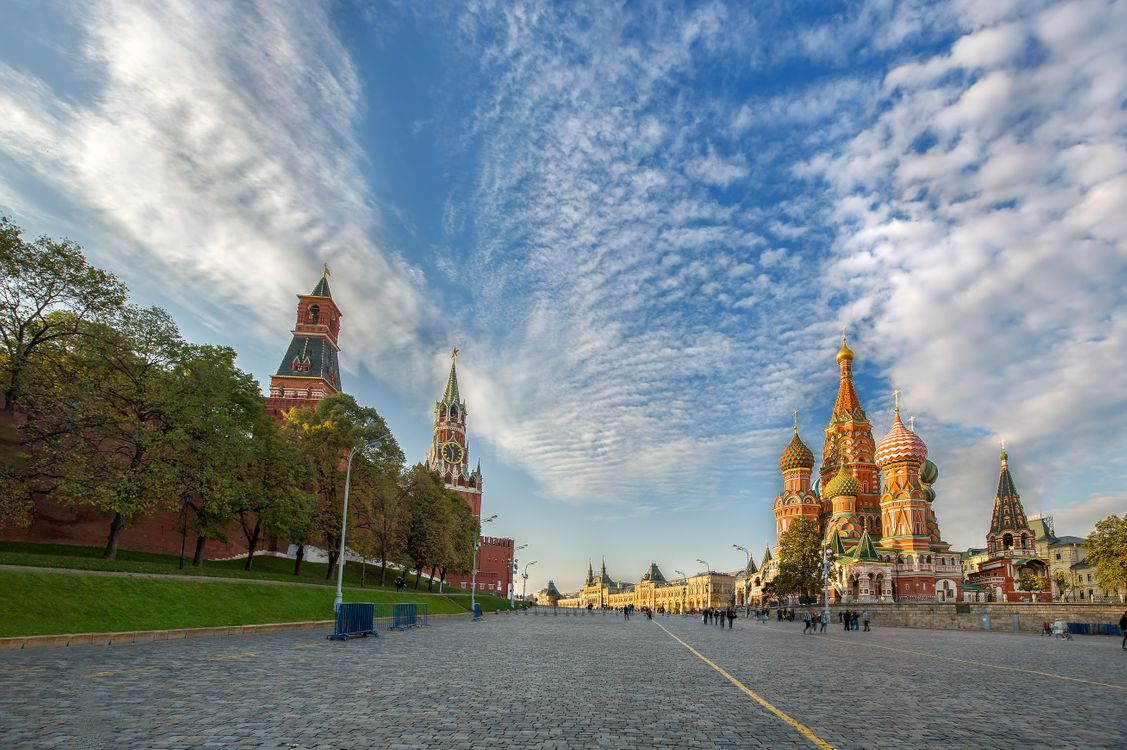 Фото бесплатно Москва, Россия, Красная Площадь - на рабочий стол