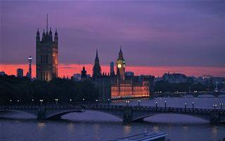 Фото бесплатно вечер, Лондон, Темза