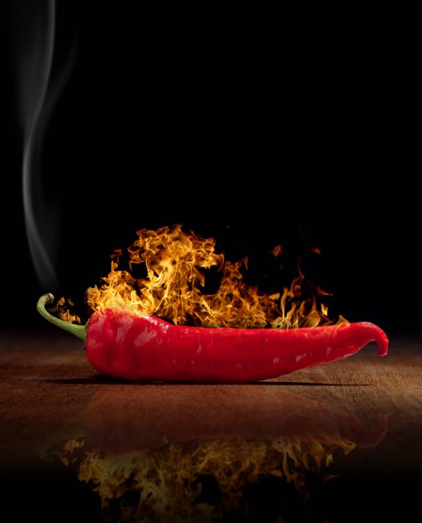 Фото бесплатно перец, красный, еда - на рабочий стол