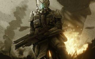 Бесплатные фото солдат,воин,шлем,амуниция,автомат,фон война