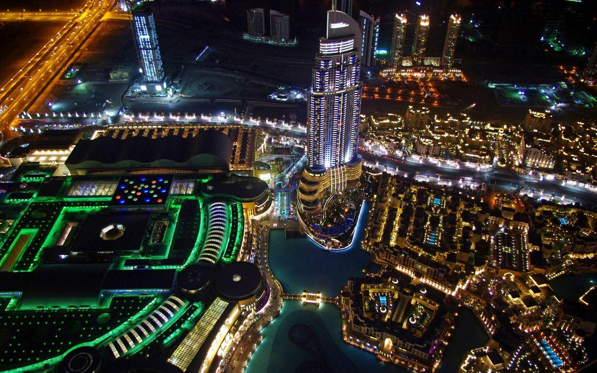 Фото бесплатно небоскребы, улицы, Вид сверху - на рабочий стол