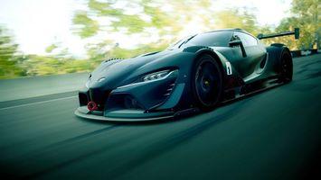 Фото бесплатно Toyota, спорткар, черный