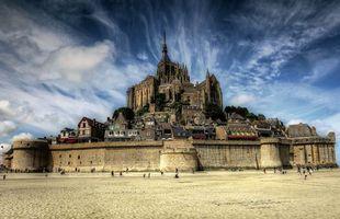 Фото бесплатно Франция, Мон-Сен-Мишель, Mont Saint Michel