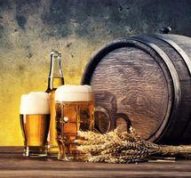 Фото бесплатно Кружка, колосья, пиво
