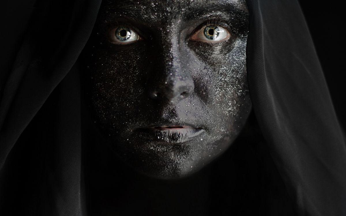 Фото бесплатно женщина, зеленые глаза, черная кожа - на рабочий стол