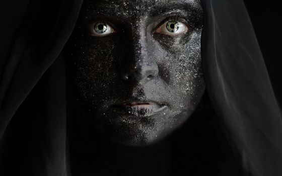 Фото бесплатно женщина, зеленые глаза, черная кожа
