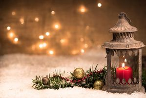 Photo free christmas tree, christmas background, lamp
