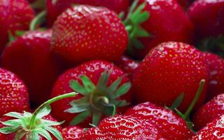 Photo free green, strawberry, ripe
