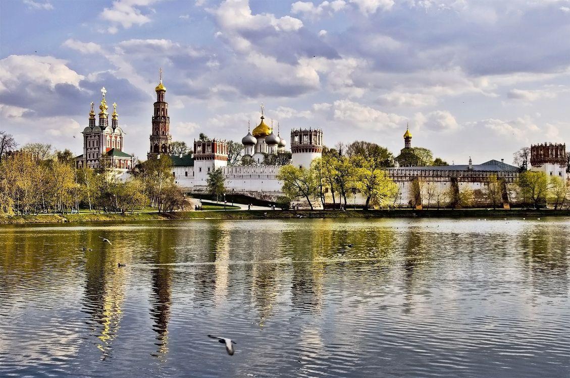 Фото бесплатно Москва, Новодевичий Монастырь, Novodevichy Monastery, город