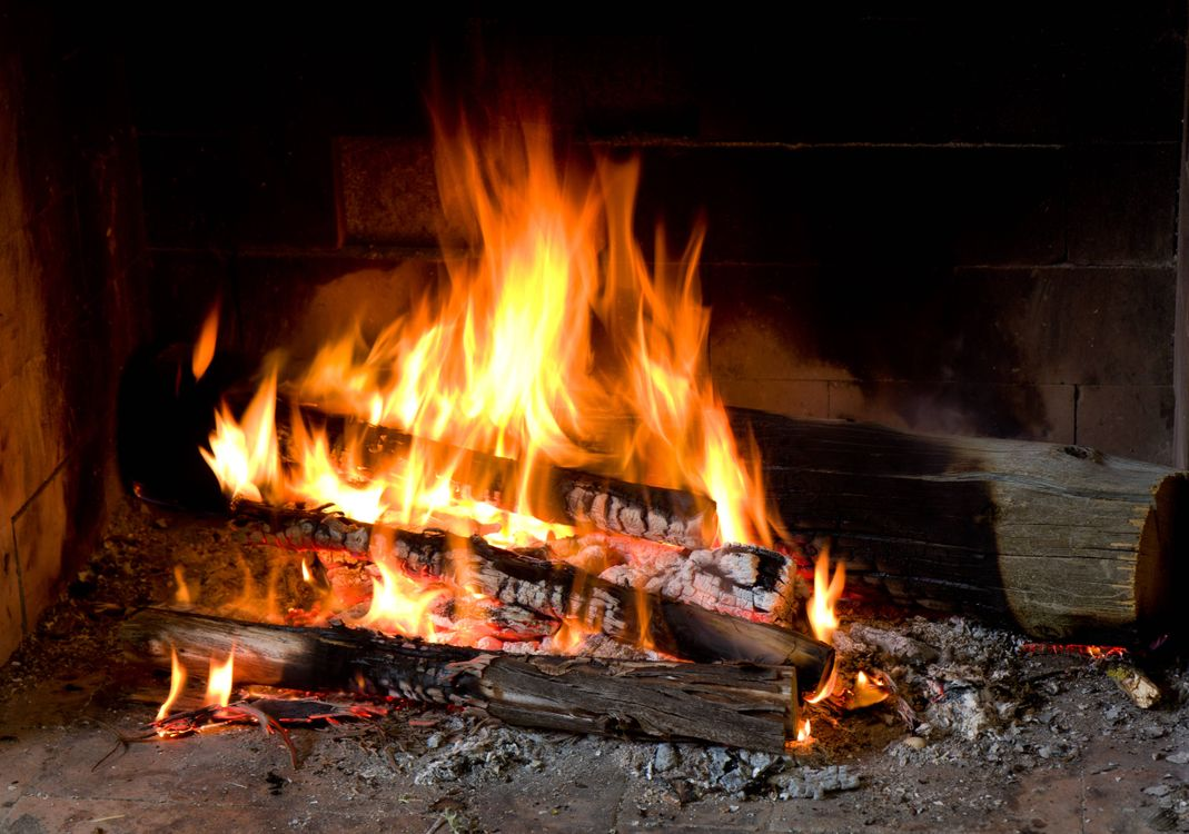 Фото бесплатно огонь, камин, костер - на рабочий стол