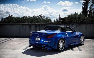 Photo free car, blue, cabriolet