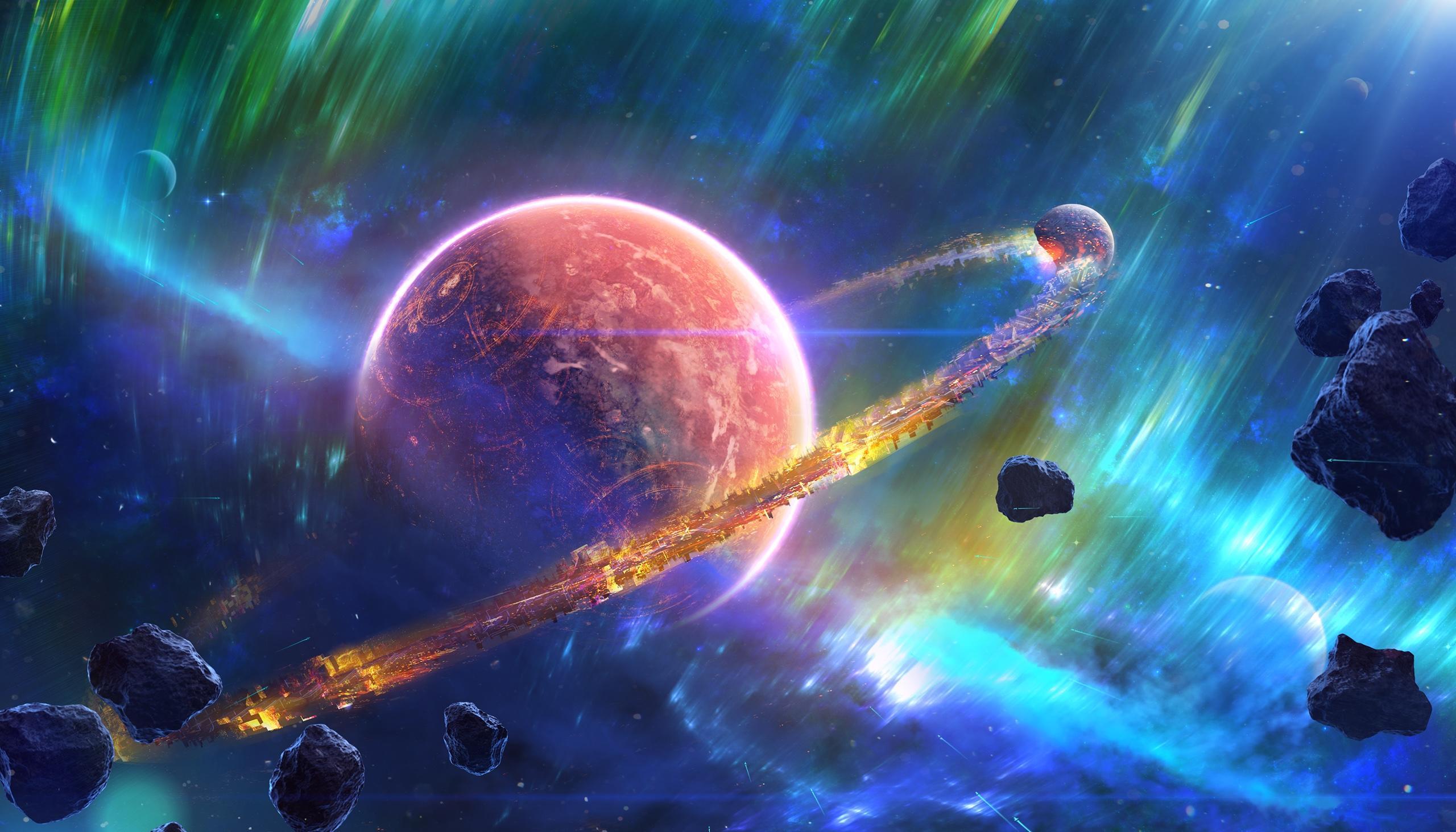Обои космос, планета, вселенная, галактика