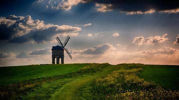 Фото бесплатно Chesterton Mill, Warwickshire, закат