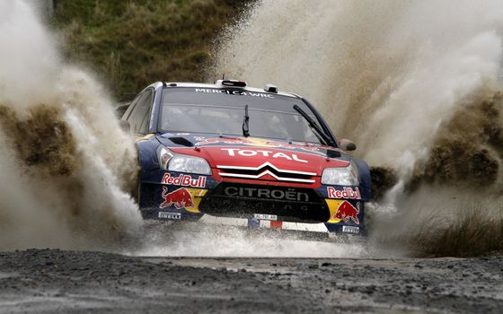 Photo free race, rally, citroen