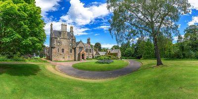 Бесплатные фото Эдинбург,Британия,Lauriston Castle,пейзаж