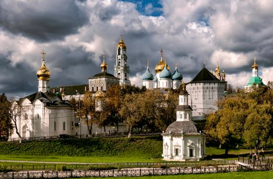 Photo free The Trinity-Sergius Lavra, Russia, the largest monastery of the Russian Orthodox Church