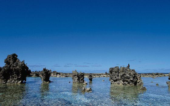 Фото бесплатно море, дно, горизонт