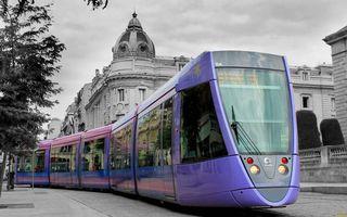 Фото бесплатно улица, трамвай, вагоны