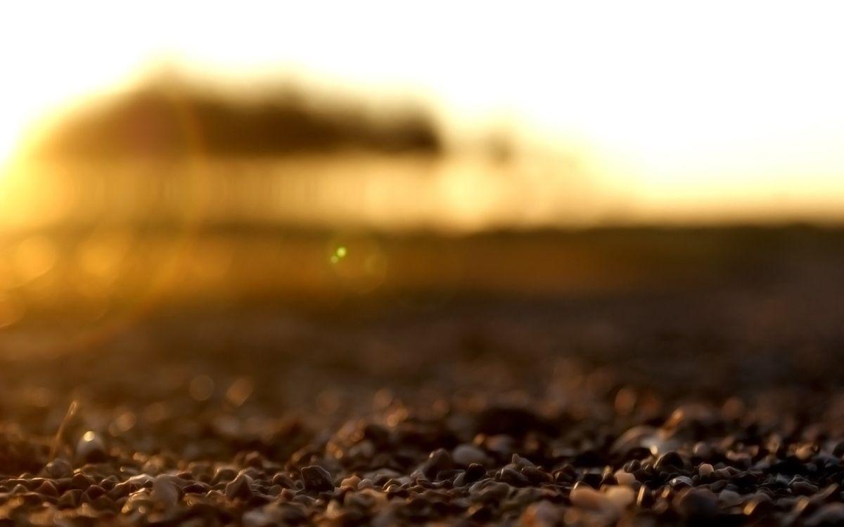 Фото бесплатно камни, песок, закат - на рабочий стол