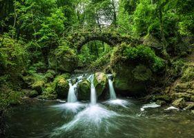 Бесплатные фото Люксембург,Швейцария,Мюллерталь,река,лес,деревья,мост