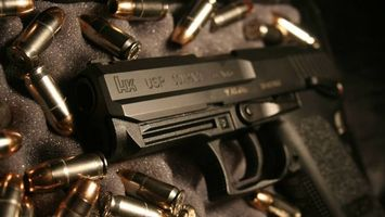 Бесплатные фото пистолет, ствол, курок, рукоять, патроны