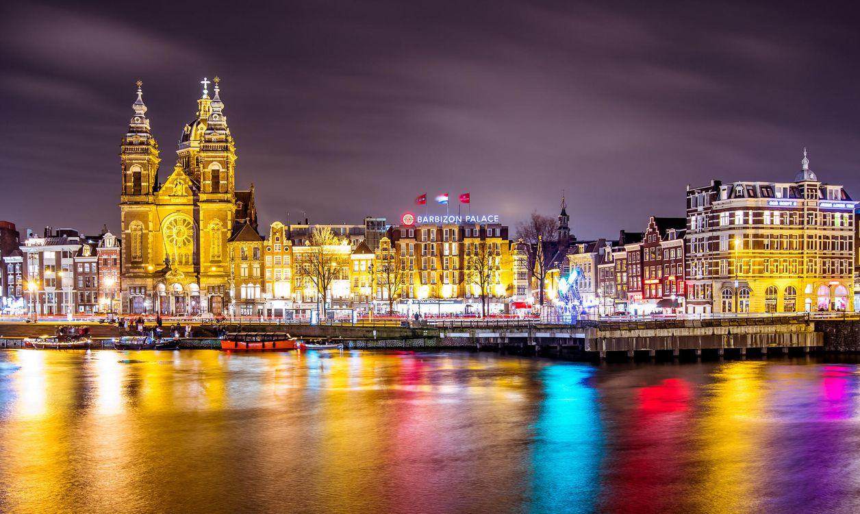 Фото бесплатно Amsterdam, Амстердам, Нидерланды, город