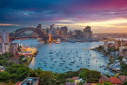 Фото бесплатно Сидней, Австралия, Городской пейзаж