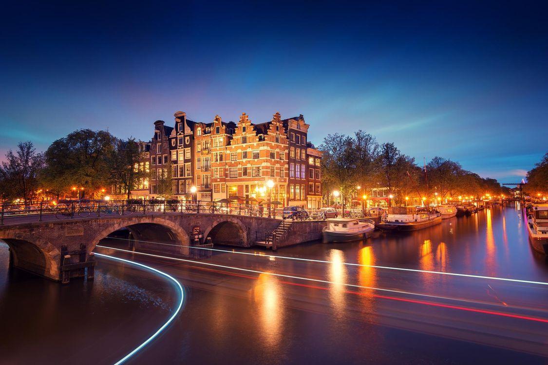 Фото бесплатно Amsterdam, Netherlands, Амстердам, Нидерланды, город