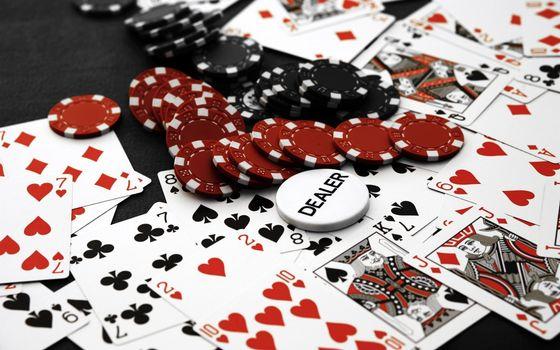 Бесплатные фото карты,игральные,масти,фишки,казино,заставка