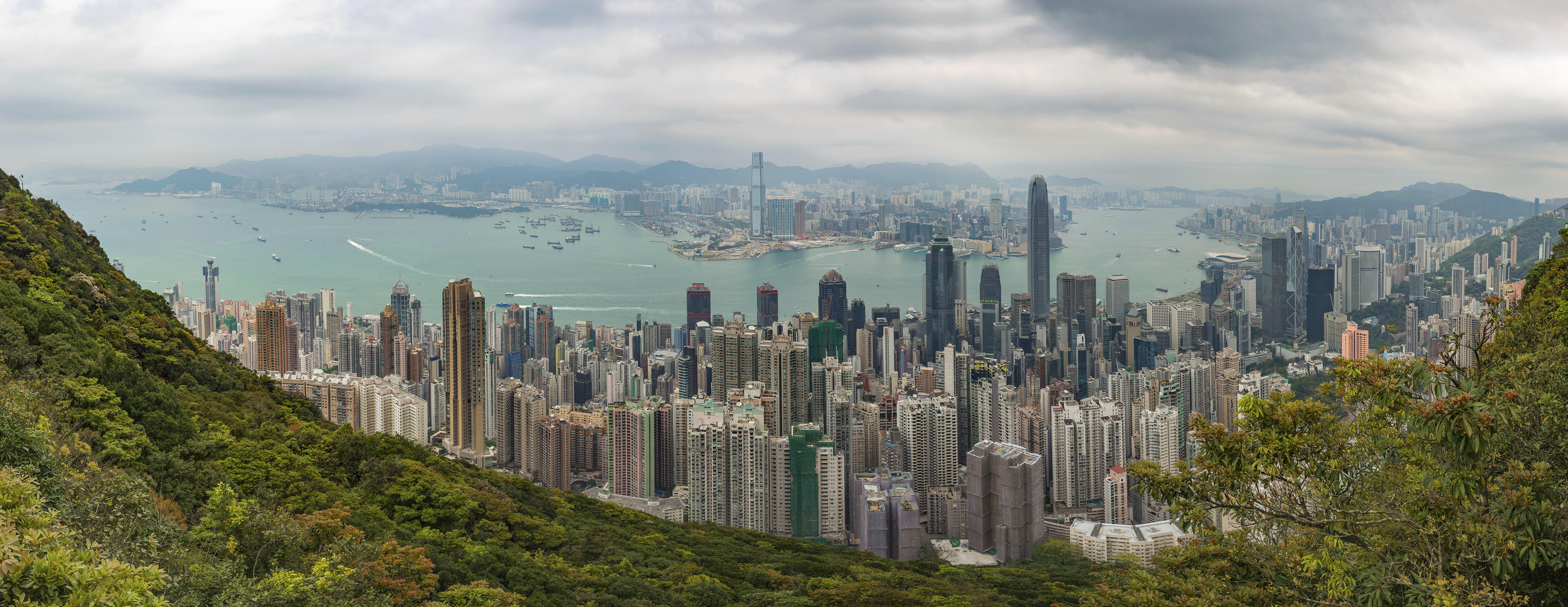 Обои Hong Kong, Гонконг, Китай, город