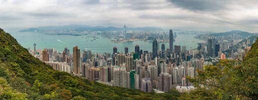 Заставки город, панорама, Китай