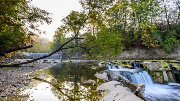 Free trees, waterfall download photo