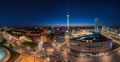 Фото бесплатно панорама, немецкий, германия