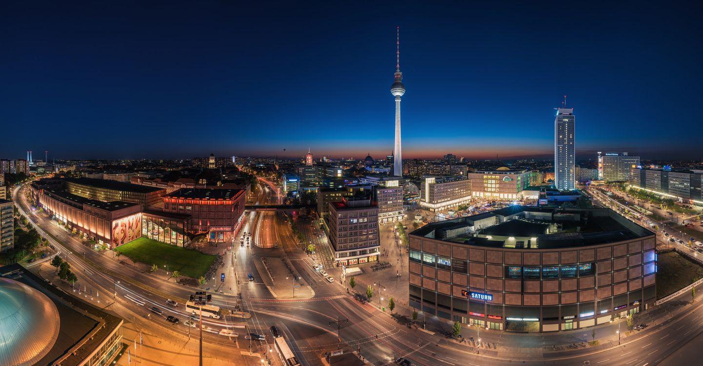 Заставка панорама, германия на айфон